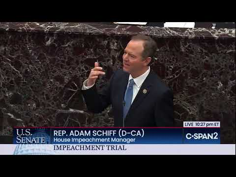 Adam Schiff Closing Argument
