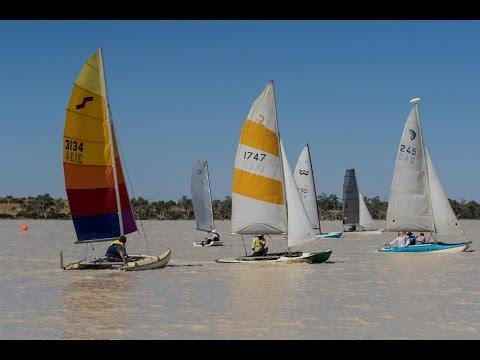 Lake Eyre Yacht Club Regatta - Pursuit Race 1 2016
