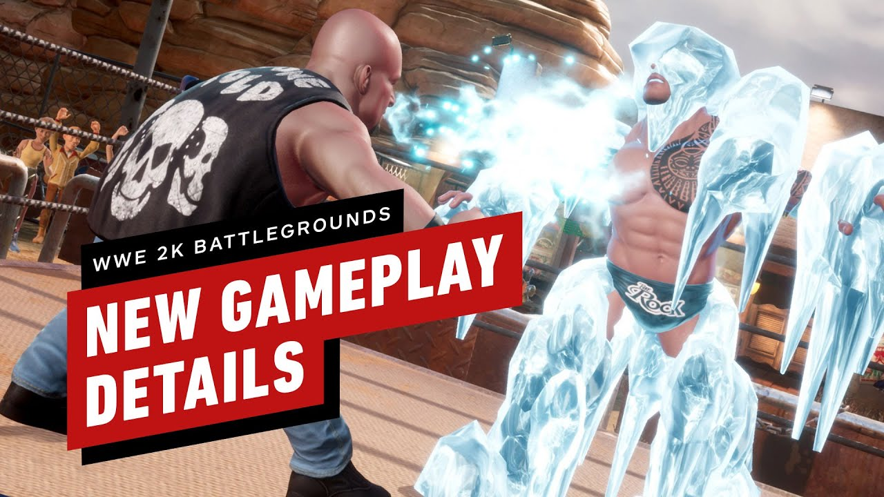 WWE 2K Battlegrounds: New Gameplay Details - IGN