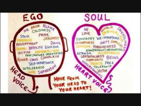 Tripping over your ego & putting the ego in it's place