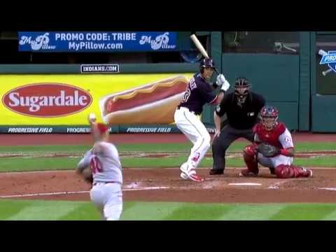 Michael Brantley crushes a solo home run