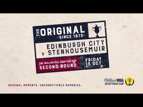 Edinburgh City 0-1 Stenhousemuir | William Hill Scottish Cup 2017-18 – Second Round