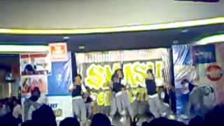 Smash Collection Dancer's Performance in Sm City Iloilo