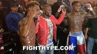 MAYWEATHER VISITS JERMALL AND JERMELL CHARLO IN CAMP; SHOWS SUPPORT AHEAD OF THEIR DEC. 22 RETURN