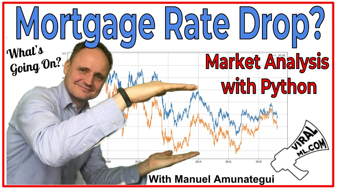 The ViralML Show! Mortgage Rate Drop? Hands-On Market Analysis With