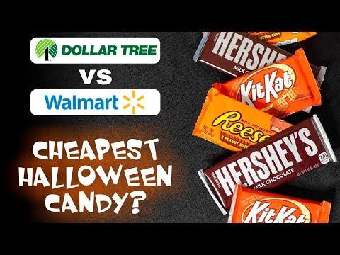 Dollar Tree vs Walmart: Which Has Cheaper Halloween Candy?