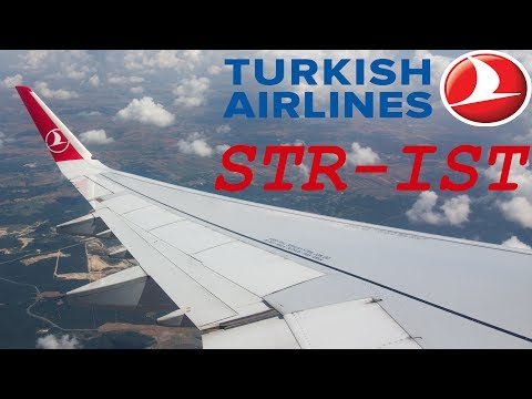 Turkish Airlines A321 - Stuttgart To Istanbul [FULL HD]