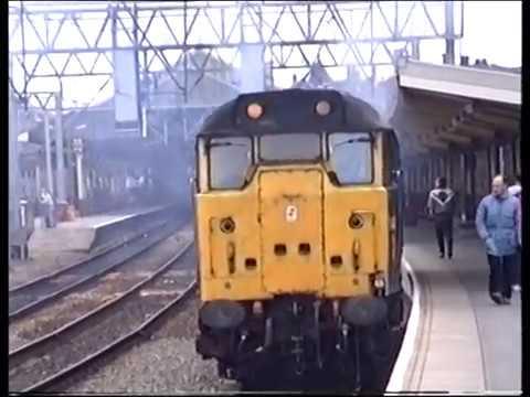 Classic British Rail  - Crewe  -  20th & 22nd of October 1990