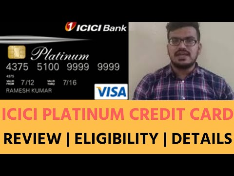 ICICI Platinum Credit Card Benefits in Hindi | ELIGIBILITY |