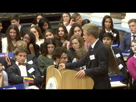 Royal Russell School International Model United Nations - Opening Ceremony