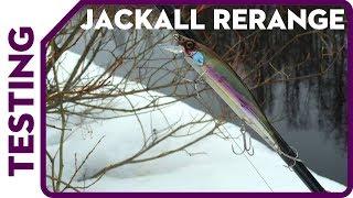 Тестирование Jackall Rerange 130 на речке. Щуку ловит)