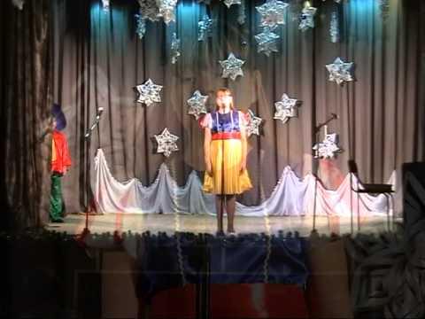 Новогодний концерт 2014  Песня Белоснежки