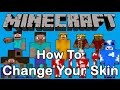 HOW TO GET SKINS ON MINECRAFT TEAM EXTREME VERSION