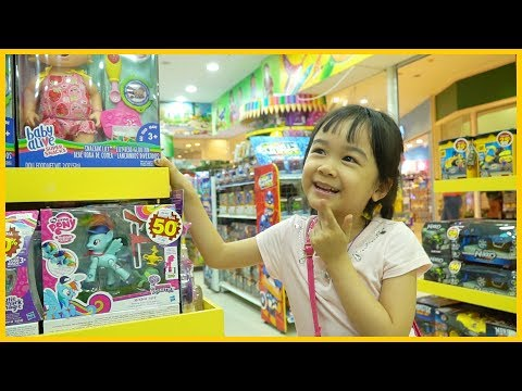 Sena Doing Shopping at Supermarket/ Buy Barbie Doll Toy - Family Fun Playtime Toys for Kids