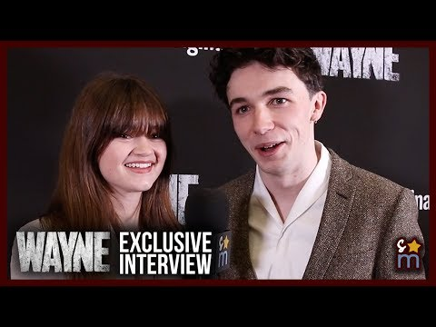 WAYNE Cast Talk Season 1, Learning Accents & Season 2 Wishes | Ciara Bravo & Mark McKenna