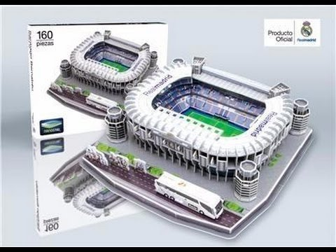 """Estadio Santiago Bernabéu"" del Real Madrid C.F. | Nanostad - Puzzle 3D"