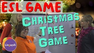 Linguish ESL Games // Christmas tree game (Canon Hearts and Bombs - Christmas Special!)  // LT149