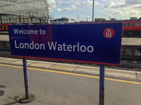 Full Journey on South West Trains from Waterloo to Waterloo (via Richmond and Hounslow)