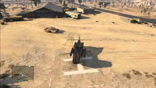 GTA V how to use Cargobob helicopter (pick up vehicles)