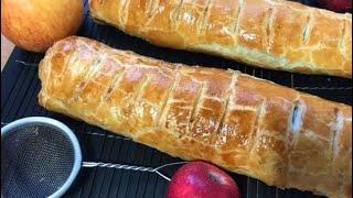 Яблочно-ореховый штрудель с корицей. Пол часа и всё готово   Просто вкусно