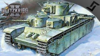 T-35 Land Battleships - Blitzkrieg 2 - USSR Campaign #2