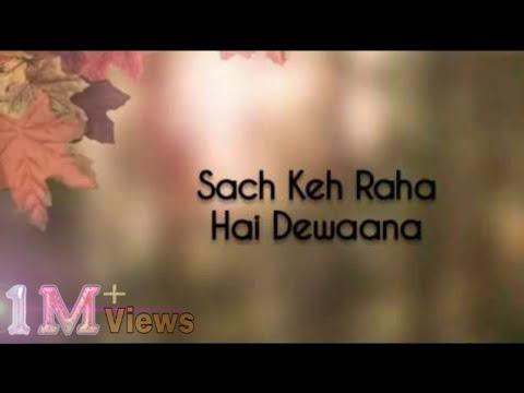 sach-keh-raha-hai-deewana-(lyrics)🎵-||-cover-version-by-maadhyam-||rehna-hai-tere-dil-mein||
