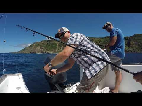 Coastal Fishing In Azores