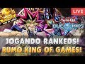 YUGIOH DUEL LINKS (LIVE) - JOGANDO RANKED DUELS! RUMO AO KING OF GAMES