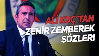 Ali Koç, Fenerbahçe taraftarlarına havalimanında açıklama yaptı!