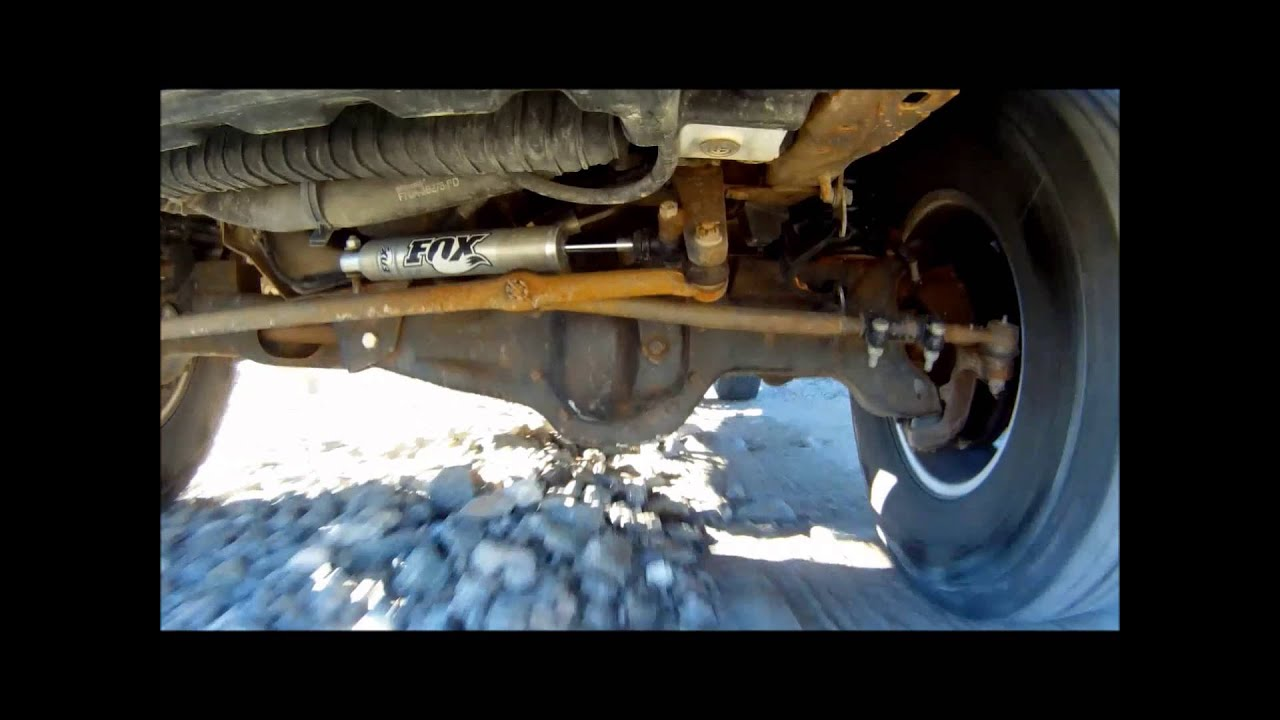 Agile Off-Road Custom 4x4 Long Travel 4x4 System view from underneath  vehicle