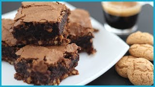 Brownies all&#39italiana ricetta fudgy brownies recipe by ItalianCakes