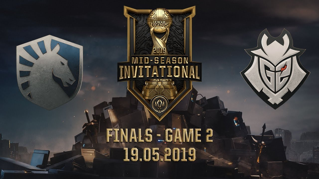 G2 vs TL [MSI 2019][19.05.2019][Finals][Game 2]