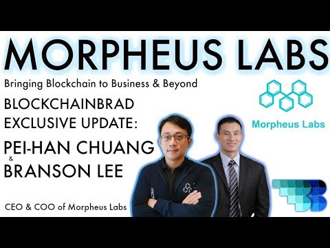 Morpheus Labs  | BlockchainBrad |  Full Stack Blockchain Service Solution for Enterprise | BPaaS