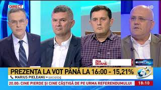 Marius Pieleanu explică cine pierde în urma eșecului de la referendum