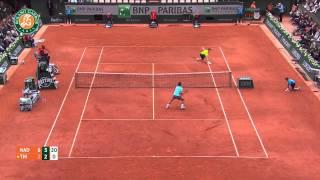 Roland Garros 2014 Thursday Highlights Nadal Thiem
