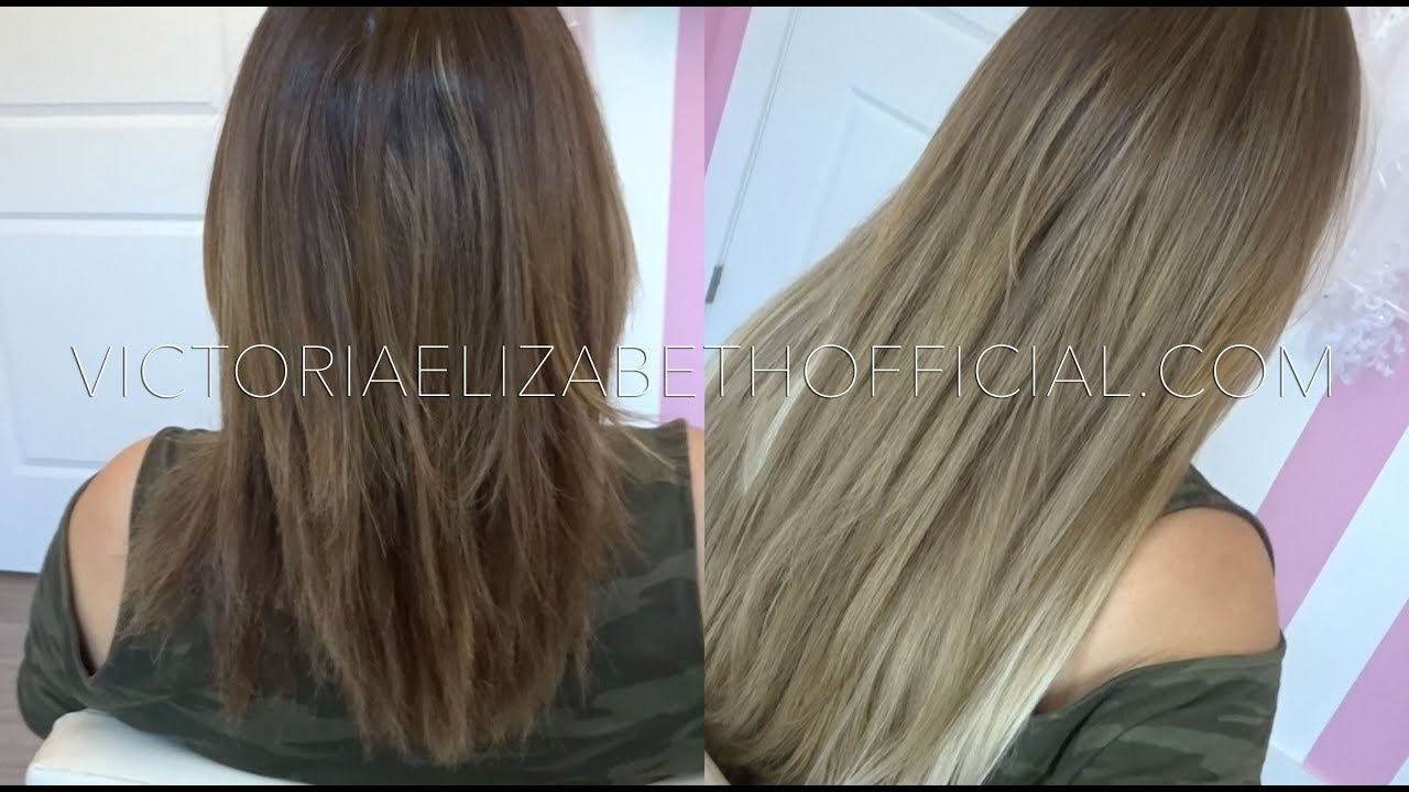 I Tip Hair Extensions Feat Bellami Hair Youtube
