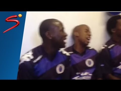 SuperSport United players in full song