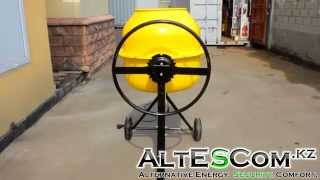 Видеообзор бетономешалки Arlan 180/650 от Altescom.kz