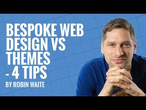 Bespoke Web Design VS Themes