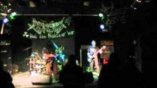 Purification Kommando - Nuclear ritual - Live i Fredericia 26/10 2010