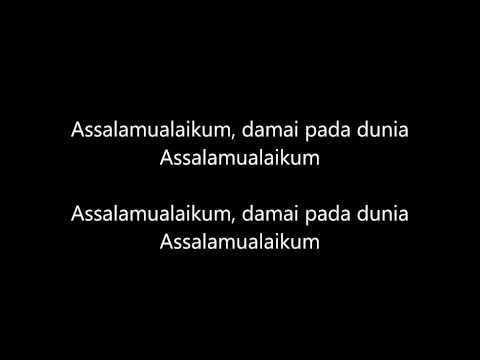 Faizal Tahir - Assalamualaikum Dunia Karaoke (Versi Gitar Akustik)
