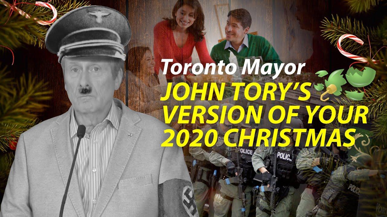 Christmas 2020 - Toronto Mayor Wants To Charge You!