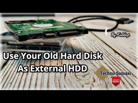 Internal Hard Disk Convert To External Hard Disk | Using 2.5'' USB Enclosure - By Techno Samasi
