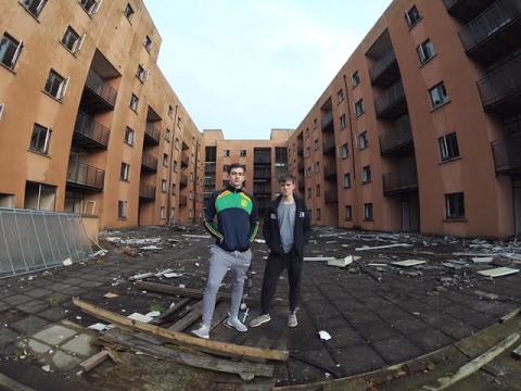 Deserted Ireland -  Abandoned Complex (DRUG DEALERS?)
