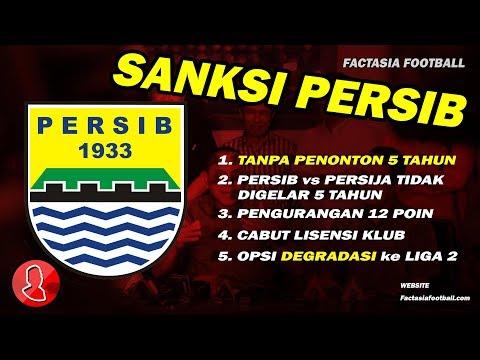 Sanksi Persib Bandung | Berita Sepak Bola Indonesia 2018