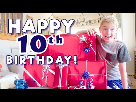Jacob's 10th Birthday Special!