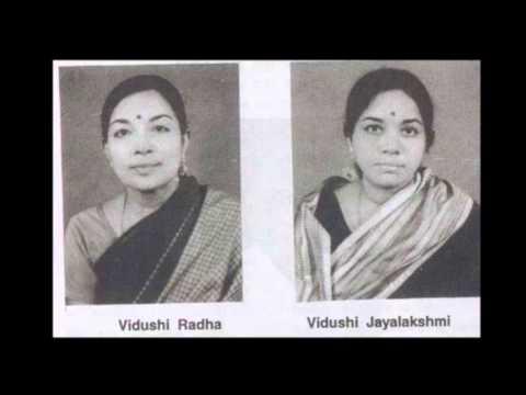 Smt Radha & Smt Jayalakshmi - Janakipathe -Ragam Kharaharapriya