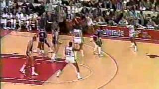 1987 Chicago Bulls  vs Los Angeles Lakers Part 1 Full Broadcast