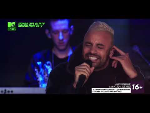 SIGALA Ft. Bryn Christopher - Sweet Lovin LIVE @ MTV BRAND NEW 2017