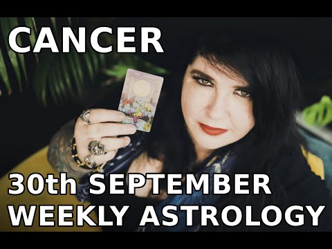 cancer weekly horoscope 15 october 2019 michele knight